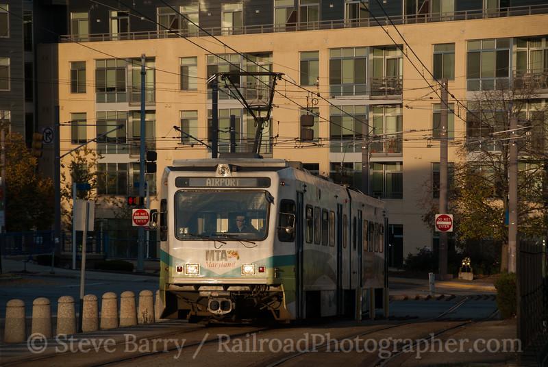 Photo 2284<br /> Maryland Transit Administration; Mount Royal, Baltimore, Maryland<br /> November 19, 2011