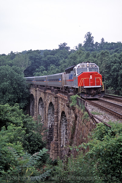 Photo 0301<br /> MARC; Thomas Viaduct, Relay, Maryland<br /> July 2003