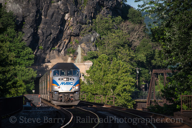 Photo 4257<br /> Maryland Area Rail Commuter<br /> Harpers Ferry, West Virginia<br /> June 26, 2017