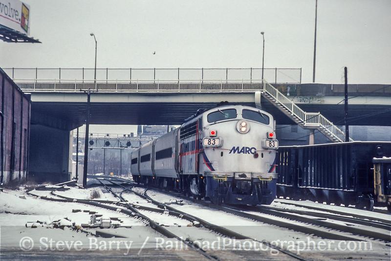 MARC; Baltimore MD; 2/1992