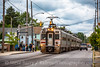 Photo 5241<br /> South Shore Line<br /> 11th Street, Michigan City, Indiana<br /> September 28, 2018