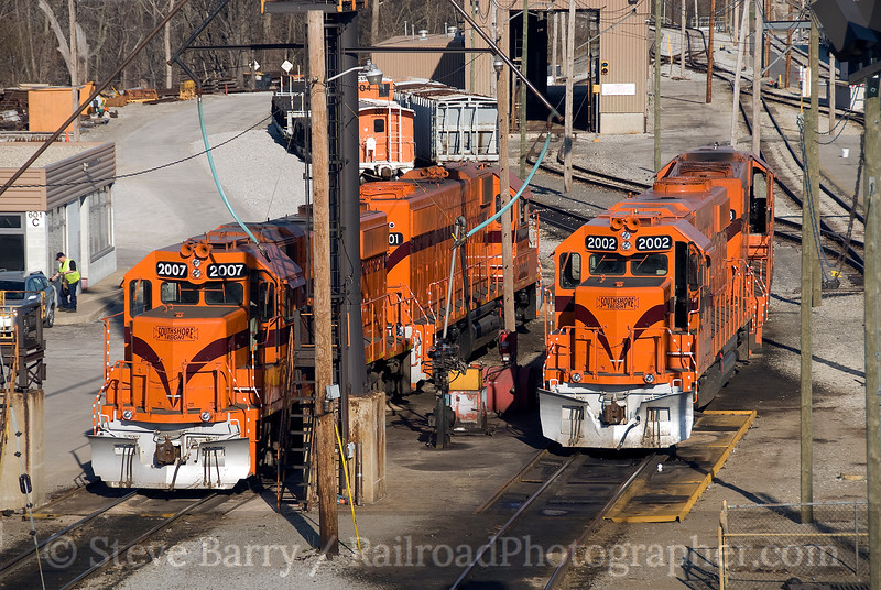 Photo 1388<br /> South Shore Freight; Michigan City, Indiana<br /> April 16, 2009