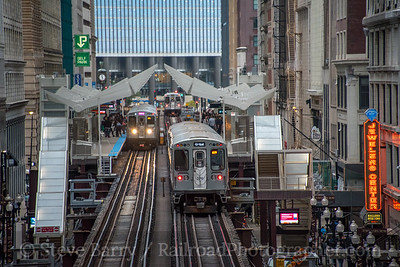 Photo 5245<br /> Chicago Transit Authority<br /> Washington/Wabash, Chicago, Illinois<br /> September 29, 2018