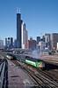 Photo 0663<br /> Burlington Northern (Metra); Chicago, Illinois<br /> October 1990