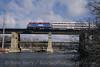 Photo 3776<br /> Metra; Fox River, Geneva, Illinois<br /> March 2005