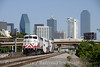 Photo 1154<br /> Trinity Railway Express; Dallas, Texas<br /> June 14, 2008