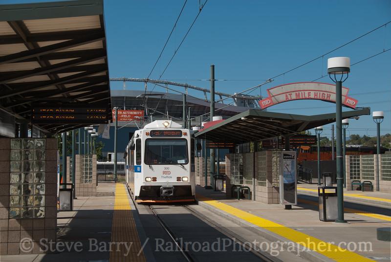 Photo 2243<br /> Regional Transportation District; Sports Authority Field, Denver, Colorado<br /> September 26, 2011