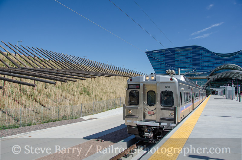 Photo 3895<br /> Regional Transportation District; Denver International Airport, Denver, Colorado<br /> July 20, 2016