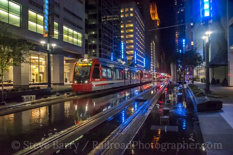 Photo 5263<br /> MetroRail<br /> Main Street Square, Houston, Texas<br /> October 7, 2018