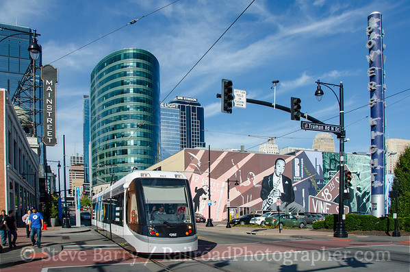 Photo 3970 KC Streetcar; Power & Light District, Kansas City, Missouri October 16, 2016