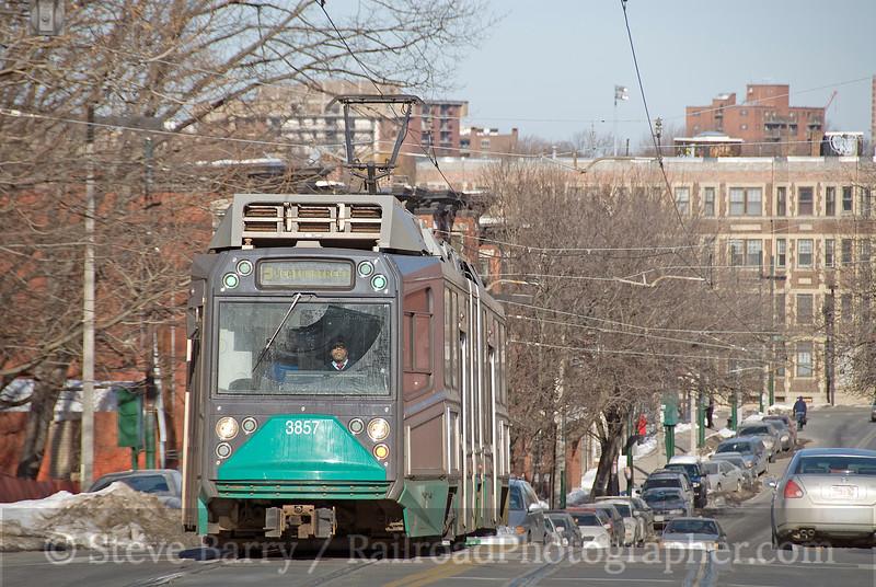 Photo 1478<br /> Massachusetts Bay Transportation Authority; Heath Loop, Boston, Massachusetts<br /> January 25, 2009
