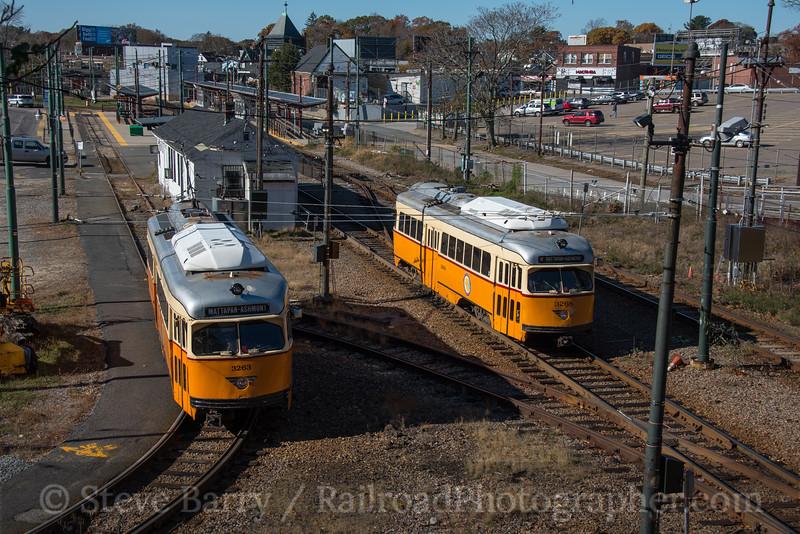 Photo 4405<br /> Mattapan High Speed Line (MBTA)<br /> Mattapan, Massachusetts<br /> November 11, 2017