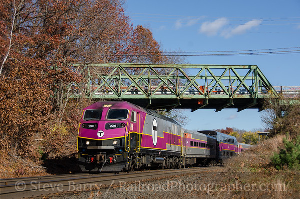 Photo 3578 Massachusetts Bay Transportation Authority; Westborough, Massachusetts November 8, 2015