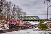 Photo 5385<br /> Massachusetts Bay Transportation Authority<br /> Westborough, Massachusetts<br /> November 17, 2018