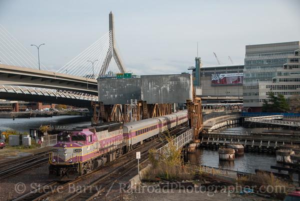 Photo 3252 Massachusetts Bay Transportation Authority; North Station, Boston, Massachusetts November 9, 2014