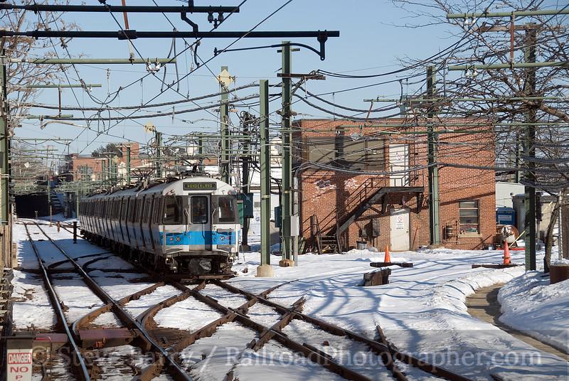 Photo 1476<br /> Massachusetts Bay Transportation Authority; Orient Heights, Boston, Massachusetts<br /> January 25, 2009