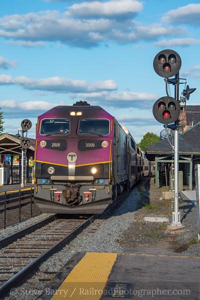 Photo 4349<br /> Massachusetts Bay Transportation Authority<br /> Framingham, Massachusetts<br /> September 29, 2017