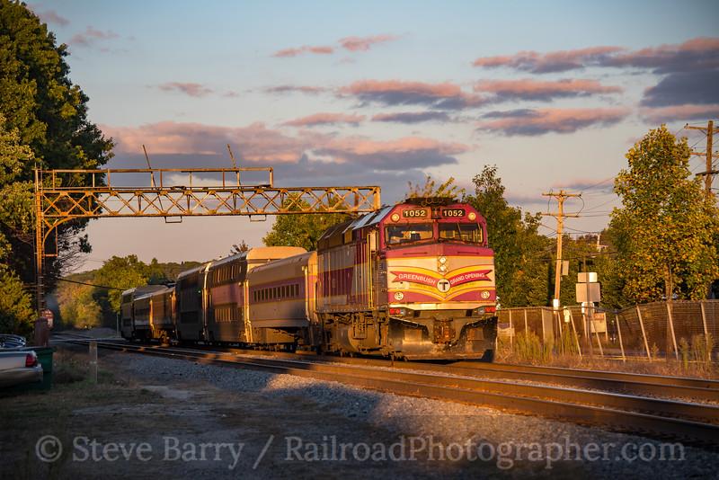 Photo 4350<br /> Massachusetts Bay Transportation Authority<br /> Framingham, Massachusetts<br /> September 29, 2017