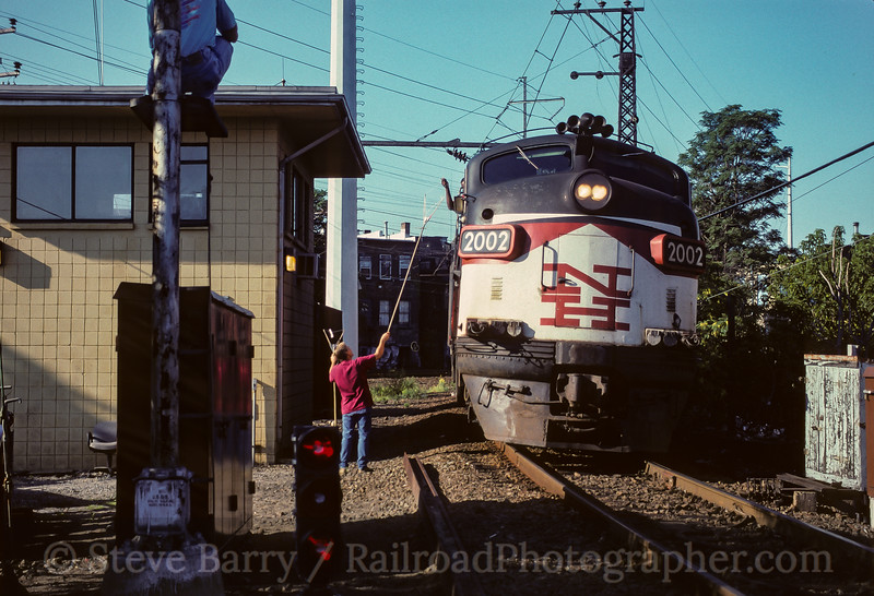 Photo 3784<br /> Metro North; South Norwalk, Connecticut<br /> August 1996