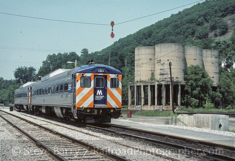 Photo 4118<br /> Metro North; Port Jervis, New York<br /> August 1988