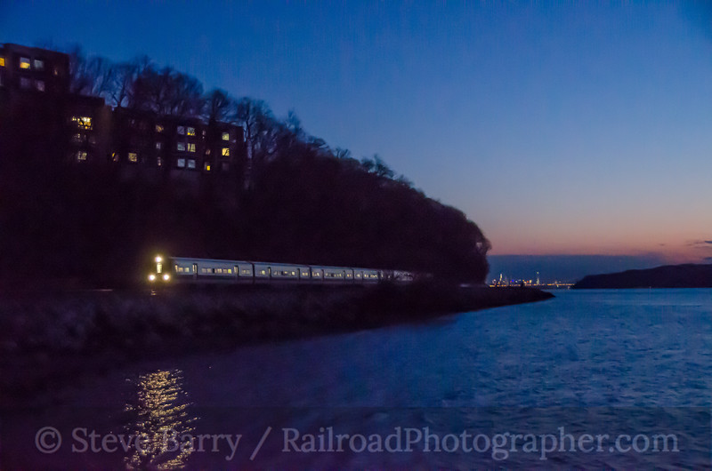 Photo 4030<br /> Metro North; Dobbs Ferry, New York<br /> January 30, 2017