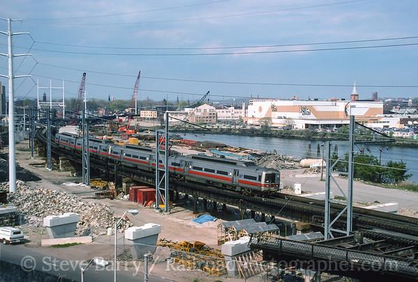 Photo 3580 Metro North; Bridgeport, Connecticut April 29, 1995