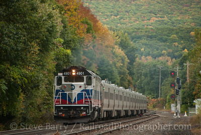 Photo 3219 Metro-North; Port Jervis, New York October 2, 2014