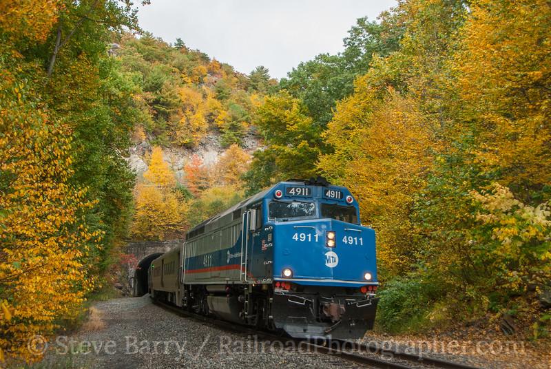 Photo 3220<br /> Metro-North; Otisville, New York<br /> October 2, 2014