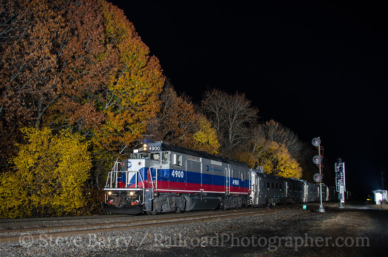 Photo 3567<br /> Metro North; Port Jervis, New York<br /> November 4, 2015