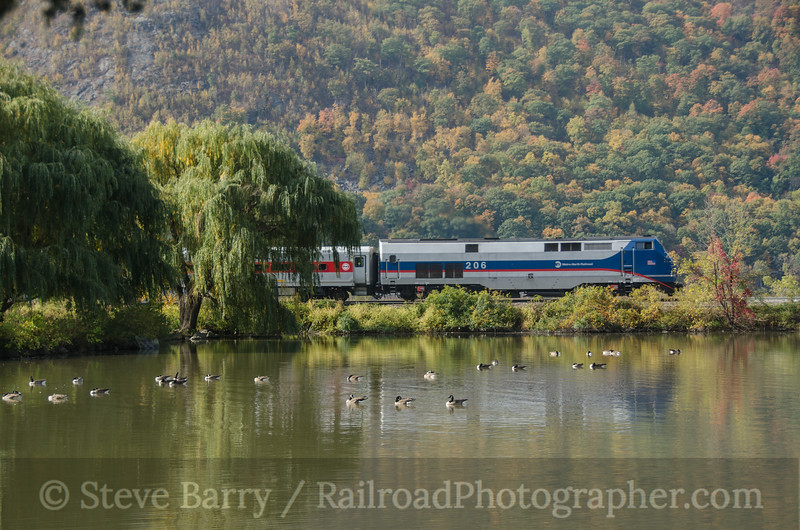 Photo 2815<br /> Metro North; Cold Spring, New York<br /> October 19, 2013