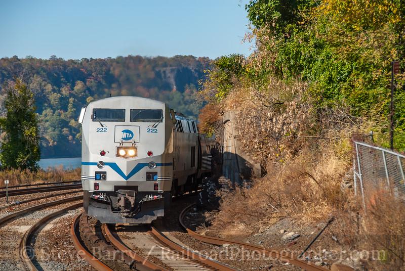Metro North; Spuyten Duyvil NY; 10/26/08