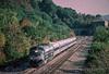 Photo 2205<br /> Metro North; Breakneck Ridge, Cold Spring, New York<br /> October 2, 1999