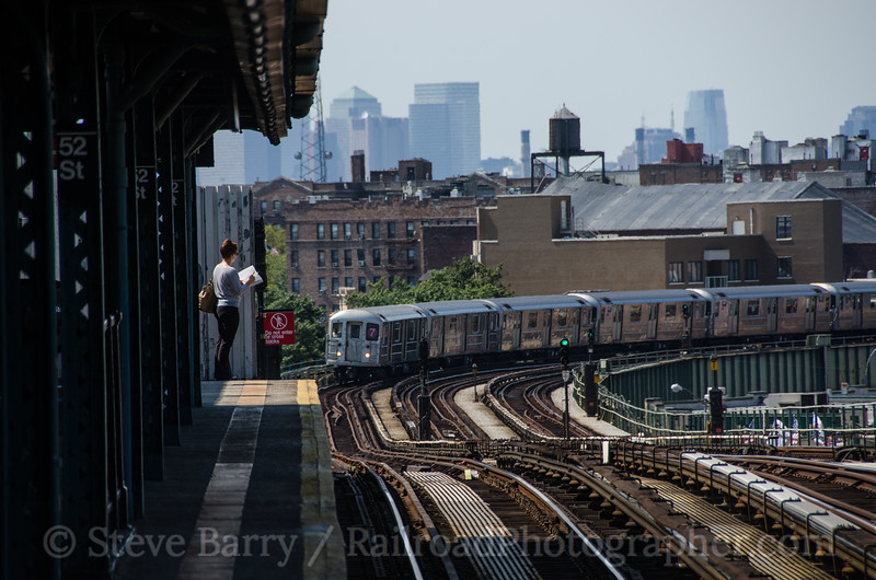 Photo 2452<br /> New York City Transit Authority; 52nd Street, Queens, New York<br /> September 14, 2012