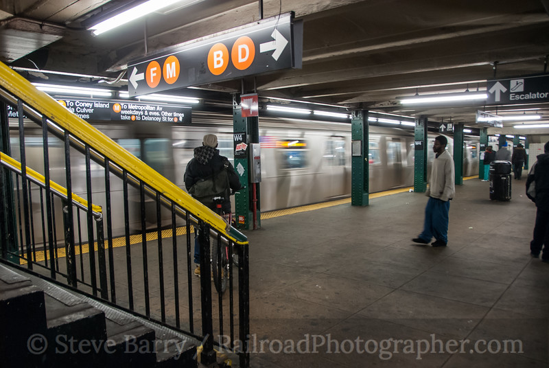 Photo 2275<br /> New York City Transit Authority; West 4th Street, New York, New York<br /> January 27, 2012