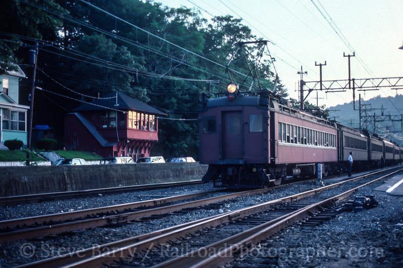 NJ Transit; Dover NJ; 8/1984