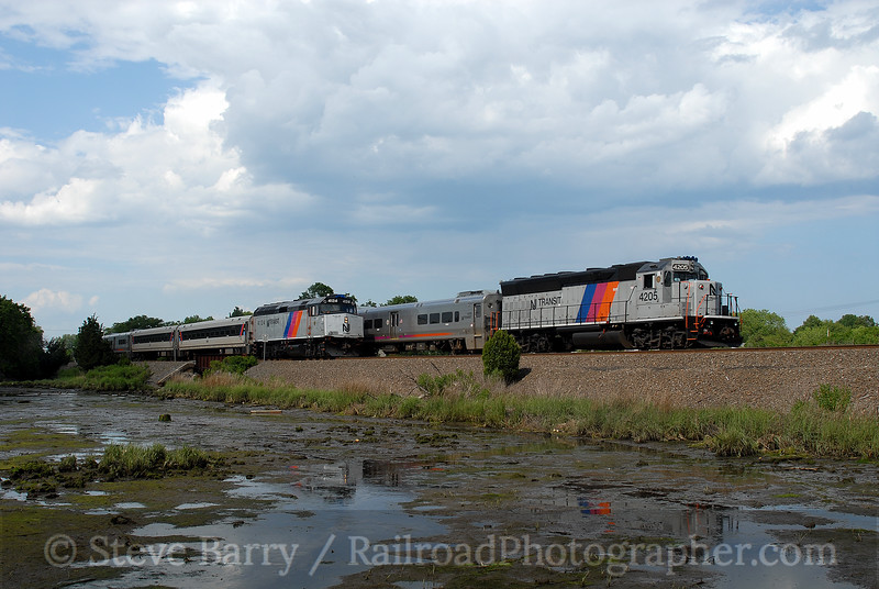 Photo 0691<br /> New Jersey Transit; Brielle, New Jersey<br /> June 15, 2006