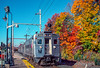 Photo 2104<br /> New Jersey Transit; Far Hills, New Jersey<br /> November 1, 1999