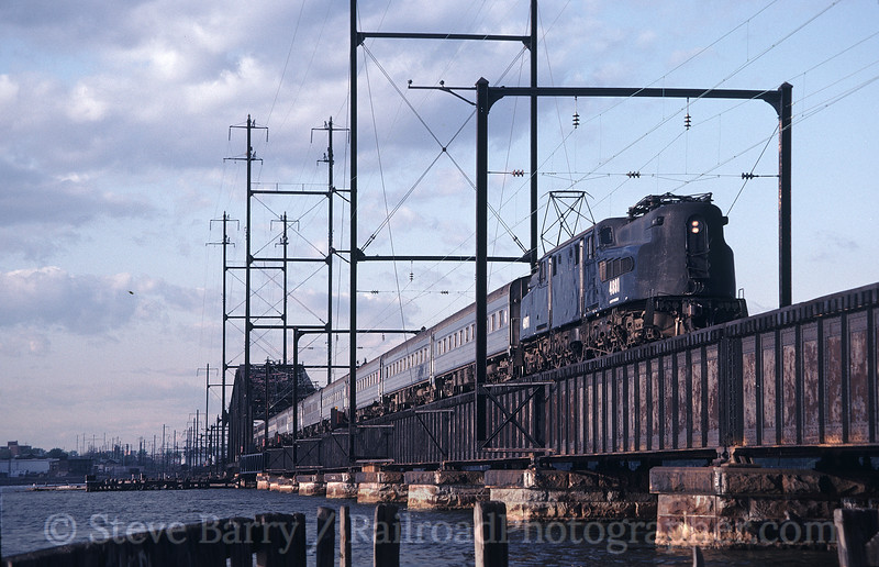 Photo 1213<br /> New Jersey Transit; South Amboy, New Jersey<br /> May 13, 1983