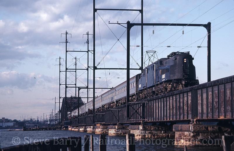 Photo 1213<br /> New Jersey Transit; South Amboy, New Jersey<br /> May 13, 1983
