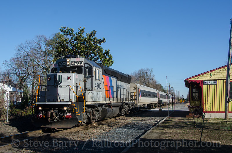 Photo 4044<br /> New Jersey Transit; Berlin, New Jersey<br /> March 5, 2017