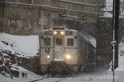 Photo 3315 New Jersey Transit; Peapack, New Jersey March 1, 2015