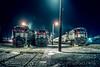 Photo 5490<br /> New Jersey Transit<br /> Port Jervis, New York<br /> November 1987
