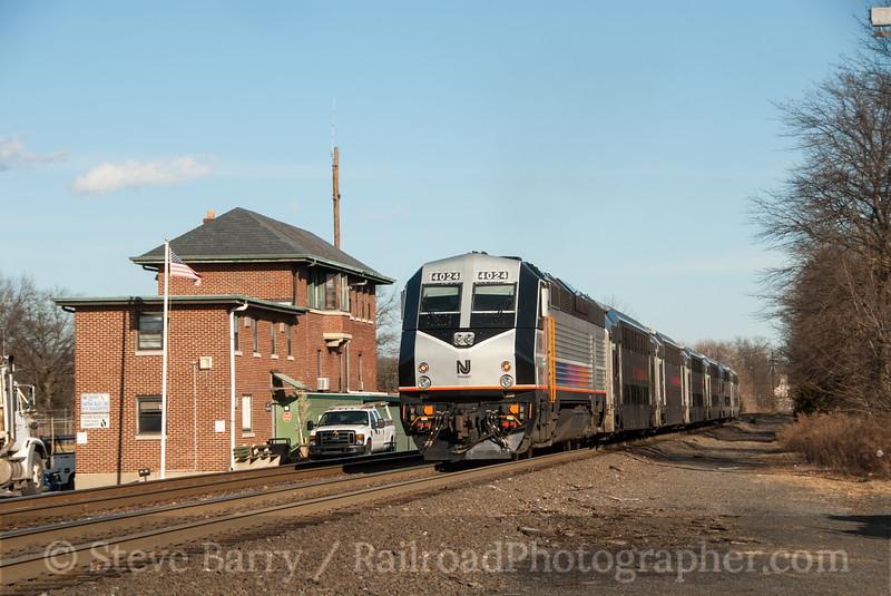 Photo 2316<br /> New Jersey Transit; Raritan, New Jersey<br /> February 23, 2012