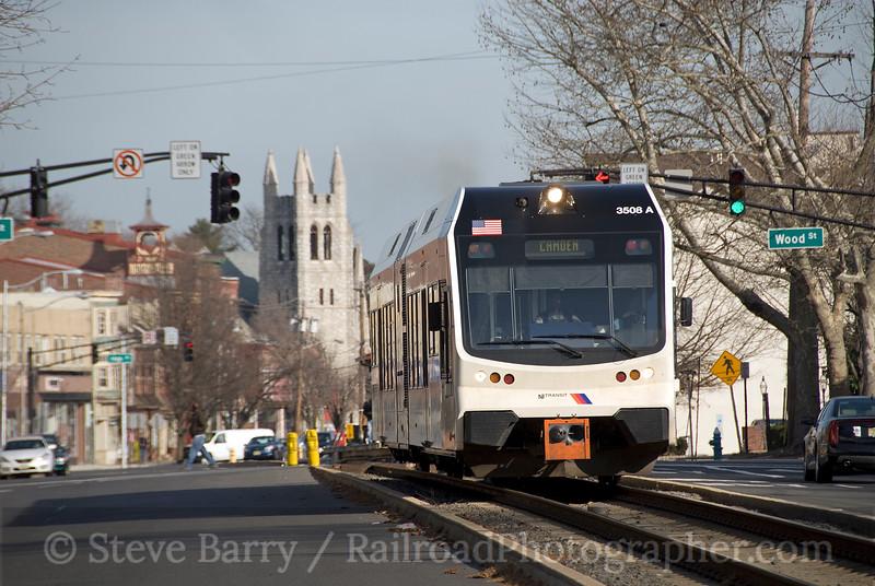 Photo 1802<br /> RiverLine (NJ Transit); Burlington, New Jersey<br /> January 21, 2010