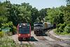 Photo 3199<br /> RiverLine (NJ Transit) and Norfolk Southern; Pennsauken, New Jersey<br /> July 5, 2014