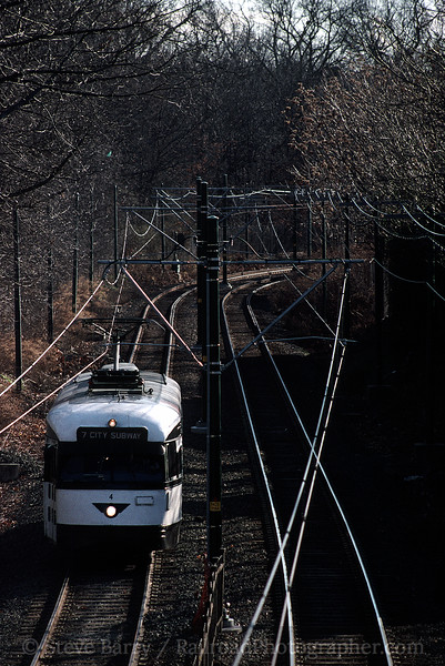 Photo 0366<br /> Newark City Subway (NJT); Newark, New Jersey<br /> January 6, 2000