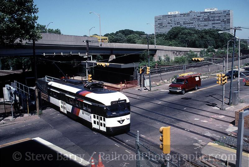 Photo 0371<br /> Newark City Subway (NJ Transit); Orange Avenue, Newark, New Jersey<br /> July 7, 1999