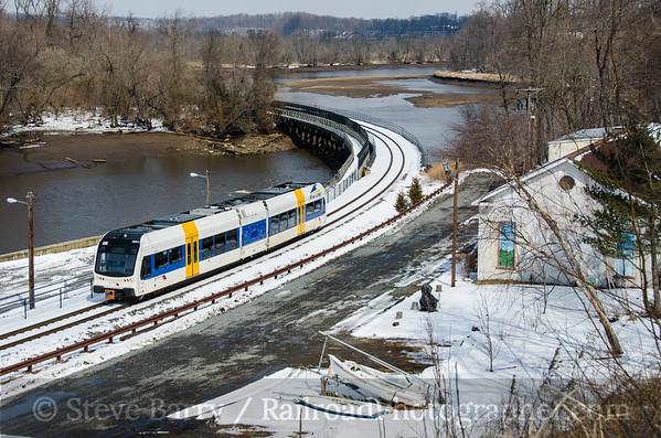 Photo 3319 RiverLine (NJ Transit); Bordentown, New Jersey March 8, 2015