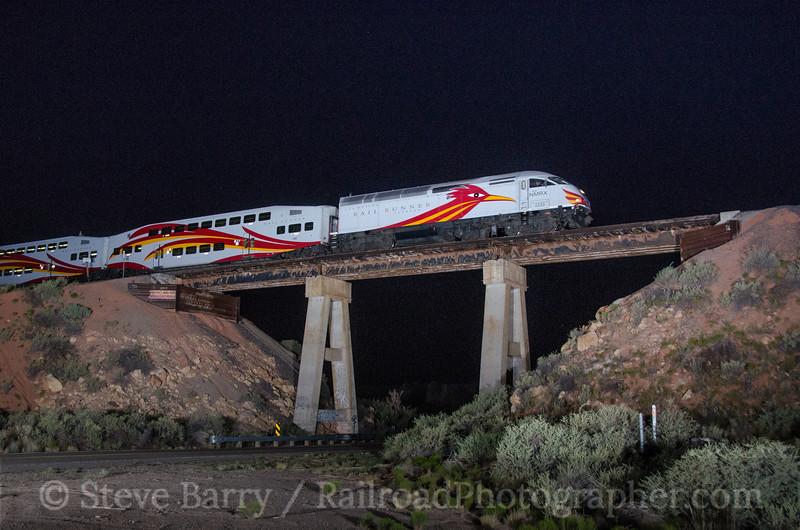 Photo 3880 New Mexico Rail Runner; Rosario, New Mexico July 15, 2016