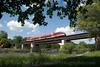 Photo 1507<br /> O-Train; Rideau River Bridge, Ottawa, Ontario<br /> June 16, 2009
